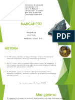 Diapositivas de Manganeso