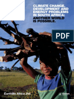 Climate Change, Development and Energy Problems in South Africa