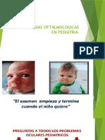 Patologias Oftalmologicas en Pediatria