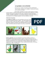 Las Granjas y Sus Animales