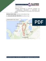 Proyecto Dotacion de Bomberos San Alberto