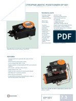 Digital Electropneumatic Positioner Ep 501