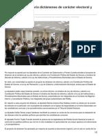 17-04-26 Aprueban por mayoría dictámenes de carácter electoral y ambiental