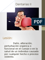 lesiones dentarias