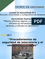 8.- Realiza Prácticas Seguras y Usa de Forma Eficiente Las Herramientas de Hardware y Software en Laboratorio.