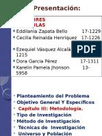 Presentación Edilania Zapata Bello