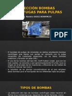 Selección Bombas Centrifugas Para Pulpas