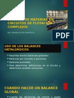 Balance de Materias en Circuitos de Flotacion Complejos
