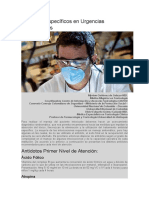 Antídotos Específicos en Urgencias Toxicológicas