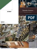 Yamaha Guitars Essential Knowledge