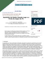 Aquisição de Dados Usando Logo e a Porta de Jogos Do PC