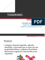 Teoria 8 Grandes Toxidromes