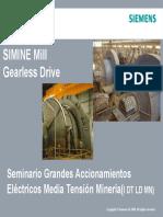 SIMINE Gearless Drive