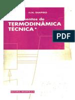 Fundamentos de Termodinámica Técnica I (M. J. Moran-H. N. Shapiro)