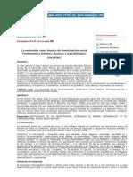 Extramuros - La Entrevista Como Técnica de Investigación Social Fundamentos Teóricos, Técnicos y Metodológicos