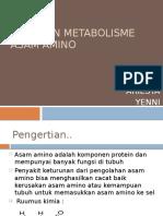Kelainan Metabolisme as. Amino