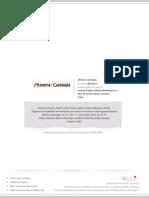 Diagrama de Estabilidad Termodinámico Del Sistema de Flotación Cobre-Agua-Amilxantato