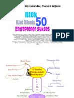 Kiat Bisnis 50 Pengusaha Sukses