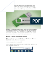 Como Instalar Windows Pelo Pendrive