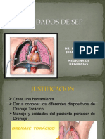 SONDA ENDOPLEURAL Y SELLO DE AGUA