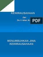 Kewirausaha FU