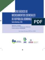 Cuadro Basico de Medicamentos Esenciales de RD. 2015