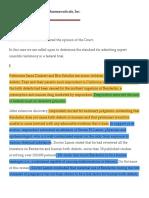 8 Daubert v. Merrell Dow Pharmaceuticals