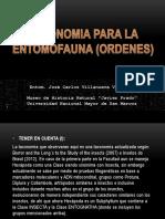 Taxonomia de Los Principales Ordenes de Insectos i
