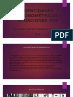 Ecuaciones 3x3 y Cofactores Metodo de Gauss-jordan.identidades Trigonometricas