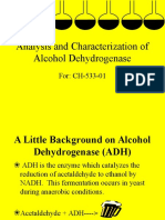 Yeast Alcohol Dehydrogenase