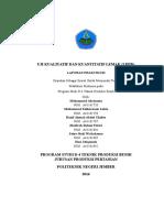 Laporan Biokimia - Uji Kualitatif Dan Kuantitatif Lipid