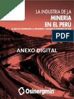 Anexo Osinergmin Industria Mineria Peru 20 años