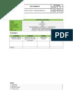 024-Procedimiento Estructura y Tabique Metalica Wisa