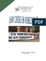 Reportaje Crisis en Venezuela