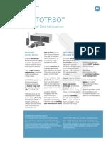 Mototrbo Data Apps Spec Sheet