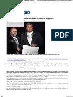 Rafa Recibió Su Último Honoris Causa en Argentina