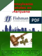 Pennsylvania Statutes on Marijuana