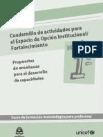 PROFESORES Cuadernillo de Actividades 1ro