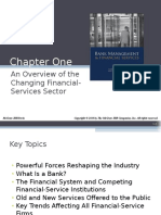 Chapter 1 An Overview of the Changing Financial-Services Sector