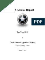 2016 Annual Report TravisCAD