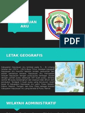 Kepulauan Aru Pptx
