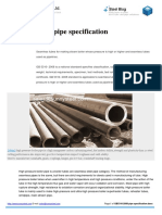GB5310 2008 Pipe Specification