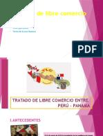 Tratado de Libre Comercio Entre Perú - Panama