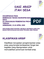 99443738-Klasifikasi-Arsip-Pemerintah-Desa.ppt