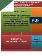Expo Psiquiatria Memoria Atencion