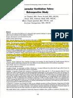 Subannular Ventilation Tubes, Retrospective Study