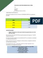 Importancia en El Sector Agrario en El Peru - Avanze Segun El Decreto