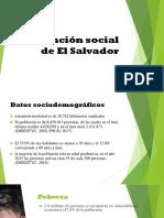 Grupo 3 Situación Social de EL Salvador