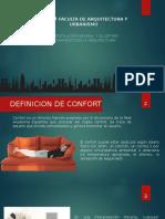 LOS VIENTOS EN LA ARQUITECTURA DEFINICIONES DE CONFORT VARIOS