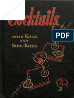 1933 Cocktails Their Kicks and Side Kicks